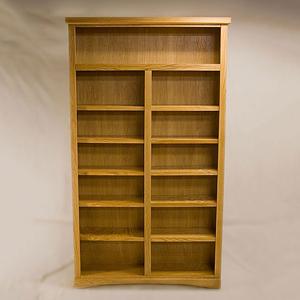 Light Oak Bookcase Belka Furnishings